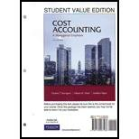 Cost Accounting, Student Value Edition Plus NEW MyAccountingLab with Pearson EText -- Access Card Package, Charles T. Horngren and Srikant M. Datar, 0132951894