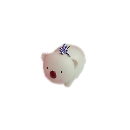 Alclouds Soft Plastic Pig Piggy Bank Creative Cartoon Piggy Bank Furnishing Articles Props Gift Cute Doll Room,Little Bear