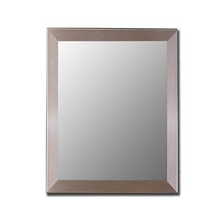 Nouveau Mirror in Stainless Size: 25