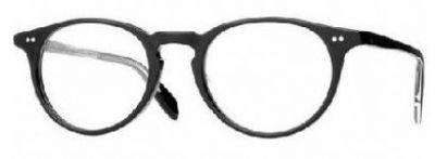 Oliver Peoples Riley R Eyeglasses Color BK Black