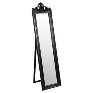 Coiffeuse Baroque Miroir Noir Debout Amazon Fr Cuisine Maison