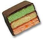 Sugar Free Rainbow Layer Cookies 1 lb - by Best Cookies