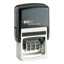 COSCO : Self-Inking Dater, 6-year Date Band, No messy Stamp -:- Sold as 2 Packs of - 1 - / - Total of 2 Each