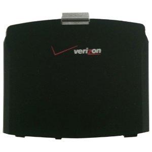 (Motorola OEM Q Verizon Wireless Standard Battery Door Black Factory Original)