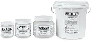 Golden Artist Colors - Pumice Gel Coarse - 128 oz Jar