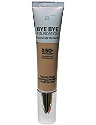 IT Cosmetics Bye Bye Foundation Full Coverage Moisturizer with SPF 50+: MEDIUM - 1 oz-30 ml