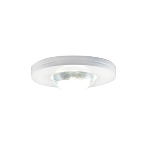 (Jesco Lighting KIT-PK503wH-A Xenon Straight Edged Slim Disk Kit, White)
