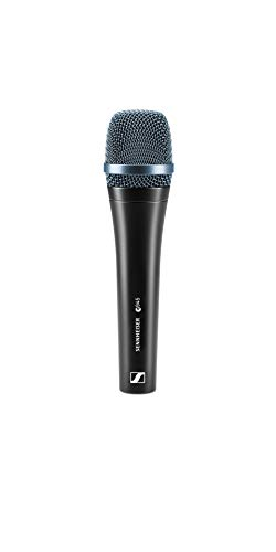 Sennheiser e945 Dynamic Supercardioid vocal microphone with a narrower pick-up pattern. Rich in detail, the ideal choice when the vocals really have to cut through.