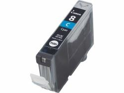 Canon CLI-8C Ink Cartridge - Cyan - Inkjet - 1 Each