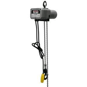 (Jet Tools Jet Systems JSH-275-15, 1/8 Ton 15' Lift Electric Hoist, 115V)