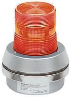 Edwards Signaling   50A-N5-40WH  Flashing Light Amber 120VAC 50/60 Hz .30Amp