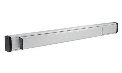 C.R. LAURENCE 311285L37628 CRL Satin Aluminum 36'' Jackson 1285 Push Pad Concealed Vertical Rod Left Hand Reverse Bevel Panic Exit Device by C.R. Laurence