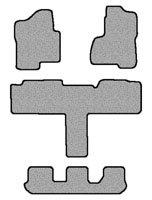 Gmc Yukon Specs (GMC Yukon XL Denali Floor Mat Carpet Custom Fit Replacement 2 pc fronts, T-shaped rear & 3rd row runnerBinded edges Beige Fits 2007 & Above Avery's Floor Mat 3237-R)