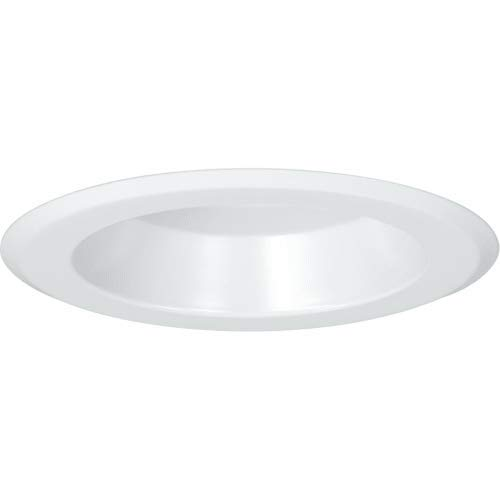 Progress Lighting P867WL-28 5inch Open Shower Trim, White