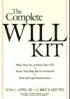 The Complete Will Kit, Jens C. Appel and F. Bruce Gentry, 0471512958