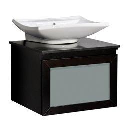Belmont Counter - Belmont Decor WM3-24 Bathroom Vanity, Madison 24