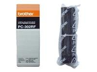PC-302RF Two Refill Ribbons for PC301 BROTHER PC302RF