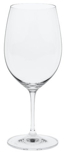 Riedel Vinum Leaded Crystal Bordeaux/Cabernet Wine Glass, Set of 4