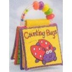 Touch & Feel Rattle Book - Animal Colors and Counting Bugs