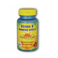 Stress B with C, 50 caps by Nature's Life (Pack of 3)