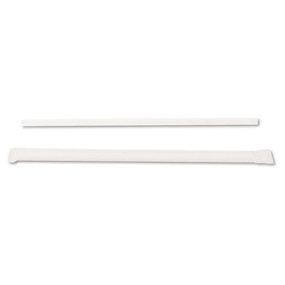 Dixie Ultra JW74 Jumbo Straws, 7 3/4quot;, Plastic, Translucent, 500/Box (Dixie Plastic Box)