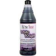 H. S. White Knight caballo champú, Blanco, 946.35ml (32 oz)