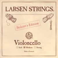 Larsen Soloist 4/4 Cello D String Medium Alloy-Steel from Larsen