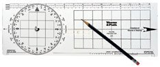 Weems Navigation Protractor -