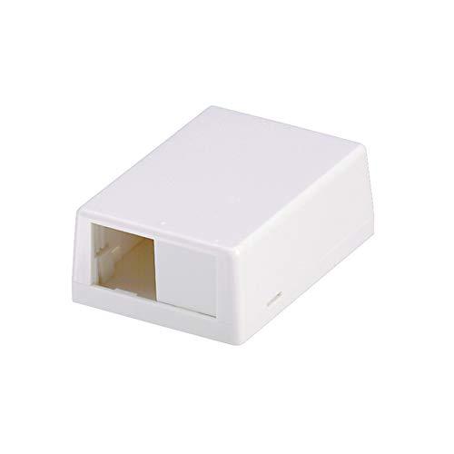 Panduit CBXJ2WH-A 2-Port Surface Mounting Box for LD3/LDP3/LD5/LDP5, White