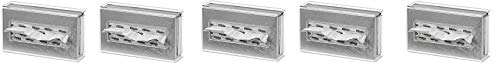 Clearform ML7083 Clear Acrylic Tissue Box Holder, Wall-Mount (5-(Pack))