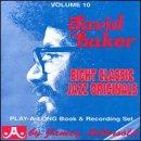 Vol. 10, David Baker: Eight Classic Jazz Originals (Book & CD Set)