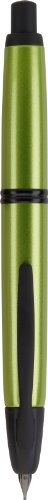 Pilot Vanishing Point Metallics Collection Retractable Fountain Pen, Valley Green Barrel, Blue Ink, Medium Nib (61095) by Pilot (Image #3)