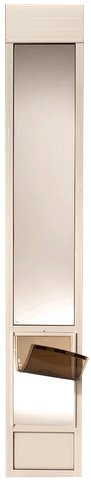 - PetSafe Deluxe Pet Panel Panels for Sliding Glass Doors 93-96 Tall, Large/Tall, White