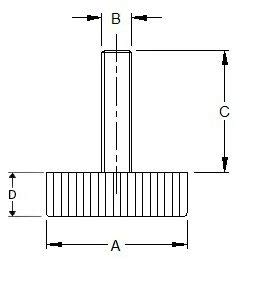 10 Paque pies ajustables de perfil bajo patas de electrodom/ésticos patas de rosca para electrodom/ésticos y muebles patas de rosca base de perfil bajo patas restringidas de altura patas roscadas