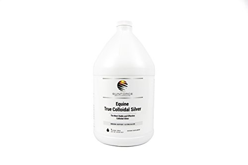 True Colloidal Silver 1 Gallon The most Stable and Effective Silver on the Market, Safe for Humans and Animals