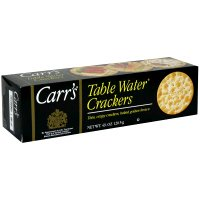 Cracker Keebler Carrs Table Water Bite Size 12 Case 4.25 Ounce by Kellogg's