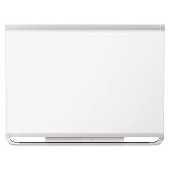 Whiteboard Mahogany Frame - Quartet P557MP2 Magnetic Marker Board,Porcelain,6'x4',Mahogany Frame