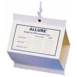4 Allure Moth Traps, 6 Diamond Shaped Pantry Pest Moth Control Pheromones Traps