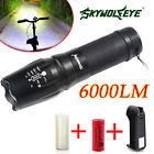 Shadohawk X800 Tactical Flashlight LED Zoom Military Torch G700 Battery