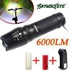 Shadohawk X800 Tactical Flashlight LED Zoom Military Torch G700 Battery