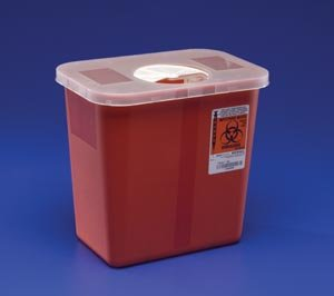 Covidien Medical 8970 Covidien Kendall Kendall Multi-Purpose Sharps Containers, 20 Per Case by Covidien