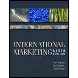 International Marketing, Terpstra, Vern and Sarathy, Ravi, 1933583223