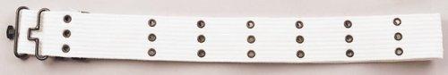 Rothco Canvas Pistol Belt, White, (Parade Belt)