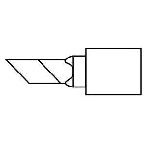 Hakko Solder Tip, Knife 1.8mm/45D x 6mm,MICRO,FM-2032 (Knife Hakko Tip)