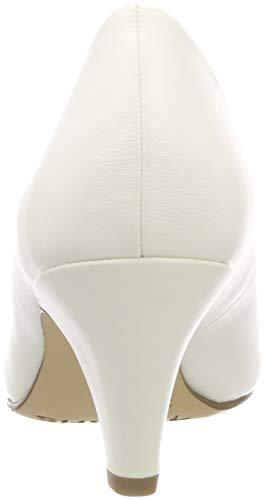white 21 Femme Matt Escarpins Blanc 22416 Tamaris 108 qAwSn
