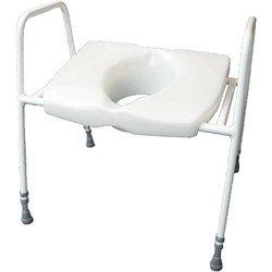 Bariatric Raised Toilet Seat.Amazon Com Grand Cosby Bariatric Raised Toilet Seat Frame