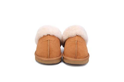 Invierno De Y Suave D Casa Libre Caliente 39 Por Lana Cuero 38 Lqfld Zapatillas Calidad Aire Interior al Estar e Rgxq5wAY