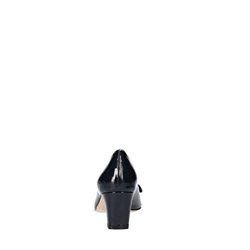 CALPIERRE Zapatos de Salón Mujer 36 EU Azul Charol AG715