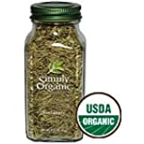 Simply Organic Rosemary Leaf Whole ORGANIC 1.23 oz. Bottle (a) - 2 Bottles