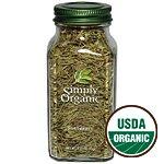 Simply Organic Rosemary Leaf Whole ORGANIC 1.23 oz bottle (a)